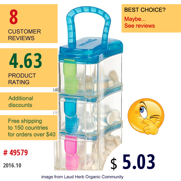 Munchkin, Snack Tower, 3 Containers