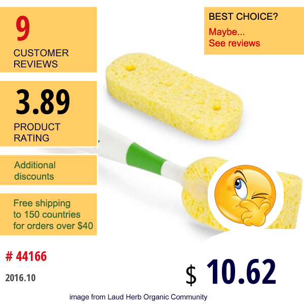 Born Free, Natural Feeding, Tru-Clean Bottle Cleaning System Sponge Brush