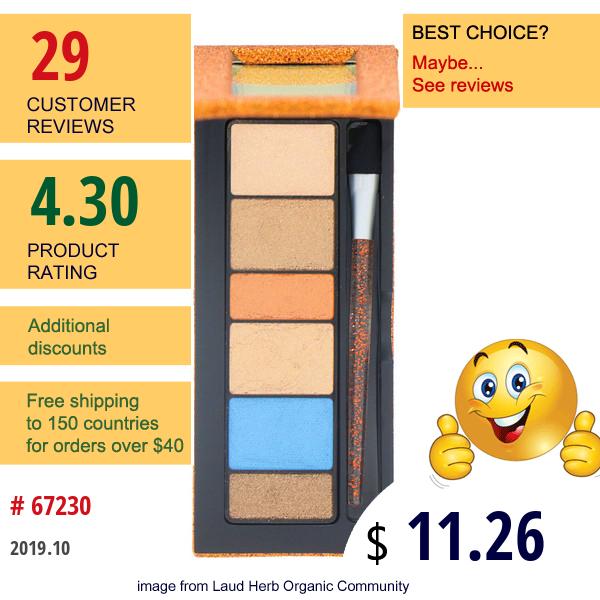 Physicians Formula, Shimmer Strips, Custom Eye Enhancing Extreme Shimmer Shadow & Liner Disco Glam, Copper Nude, 0.12 Oz (3.4 G)